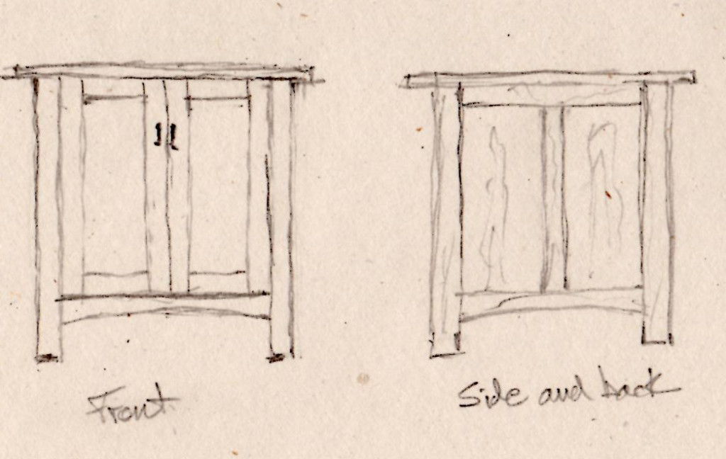 end table drawing 2